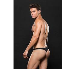 Sexy Shop Online I Trasgressivi - Intimo Uomo - Perizoma Nero Uomo Low Rise Zip Up L/XL - Envy Menswear