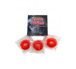 Sexy Shop Online I Trasgressivi - Gadget Commetibile - Gummy Love Rings Assortment - Spencer & Fleetwood