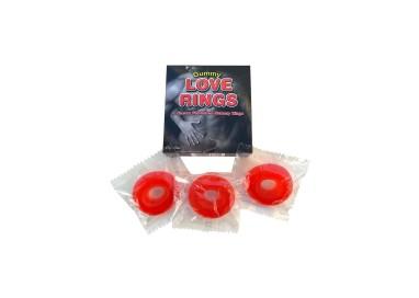 Gadget Commetibile - Gummy Love Rings Assortment - Spencer & Fleetwood