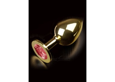 Plug Anale in Metallo - Jewellery in Gold Large - Dolce Piccante