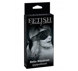 Sexy Shop Online I Trasgressivi - Maschera BDSM - Satin Blindfold Black - Pipedream