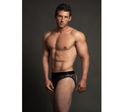 Sexy Shop Online I Trasgressivi - Intimo Uomo - Lace Open Back Brief Black - Allure