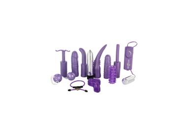 Kit e Set Vibrante - Dirty Dozen Sex Toy Kit Purple - Seven Creations