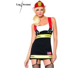 Sexy Shop Online I Trasgressivi - Costume Sexy Per Carnevale - Costume Da Sexy Pompiere - Leg Avenue