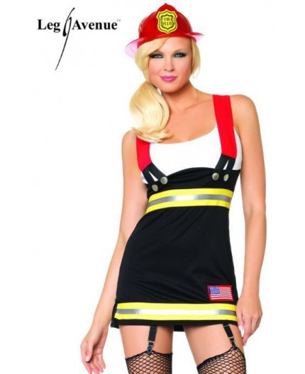 Costume Da Sexy Pompiere - Backdraft Babe