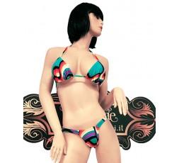Sexy Shop Online I Trasgressivi - Costume Mare Bikini Donna - Bikini Multicolore - Ivete Pessoa