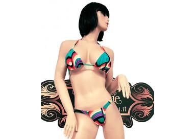 Costume Mare Bikini Donna - Bikini Multicolore - Ivete Pessoa