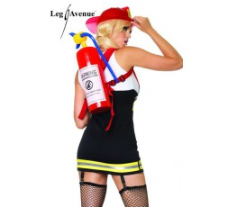Costume Da Sexy Pompiere - Backdraft Babe
