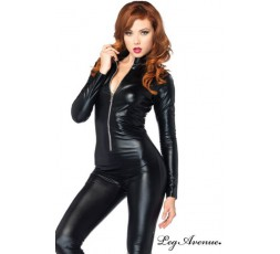 Sexy Shop Online I Trasgressivi - Catsuit - Catsuit Con Zip Frontale