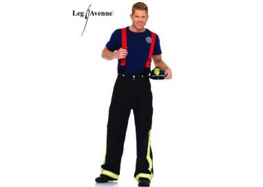 Carnevale Uomo - Costume da Pompiere - Leg Avenue