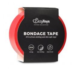 Sexy Shop Online I Trasgressivi - Costrittivo - Nastro Adesivo, Rosso per Bondage Red - Easy Toys