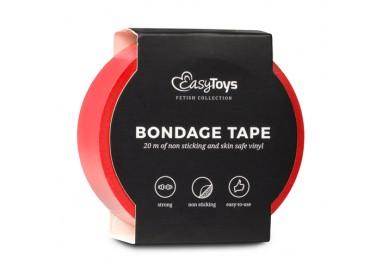 Costrittivo - Nastro Adesivo, Rosso per Bondage Red - Easy Toys