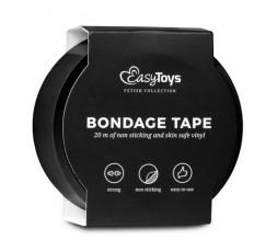Sexy Shop Online I Trasgressivi - Costrittivo - Nastro Adesivo, Nero per Bondage Black - Easy Toys