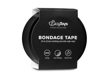 Costrittivo - Nastro Adesivo, Nero per Bondage Black - Easy Toys