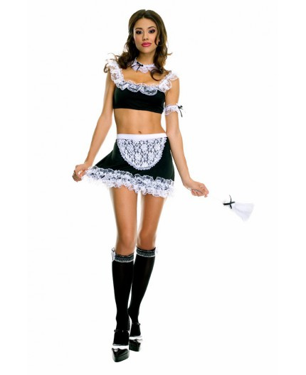 Costume  da Camerira Sexy - French Maid Outfit