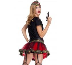 Sexy Shop Online I Trasgressivi Costume  da Soladatessa Sexy - Frontline Fox