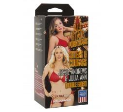 Sexy Shop Online I Trasgressivi - Masturbatore Vagina - Jessie Andrews & Julia Ann Skin - Doc Johnson