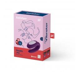 Sexy Shop Online I Trasgressivi - Sex Toy Coppia Design - Double Joy Violet - Satisfyer