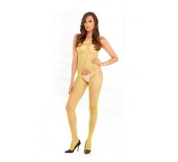 Sexy Shop Online I Trasgressivi - Bodystocking - Industr. Net Suspender Bodystock. Lime - Rene Rofe