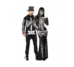 Sexy Shop Online I Trasgressivi - Halloween Coppia - Costume da Skeleton Lady & da Scheletro