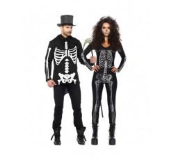 Sexy Shop Online I Trasgressivi - Halloween Coppia - Costume da Scheletro