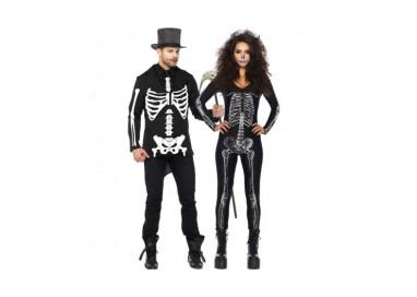 Il consiglio del giorno: Halloween Coppia - Costume da Scheletro