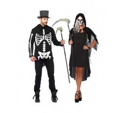Sexy Shop Online I Trasgressivi - Halloween Coppia - Costume Da Scheletro & Da Phantom Velvet
