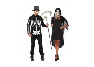 Il consiglio del giorno: Halloween Coppia - Costume Da Scheletro & Da Phantom Velvet