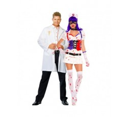 Sexy Shop Online I Trasgressivi - Halloween Coppia - Costume da Dr. Phil Good & Infermiera Dell'Orrore