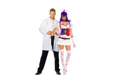 Il consiglio del giorno: Halloween Coppia - Costume da Dr. Phil Good & Infermiera Dell'Orrore