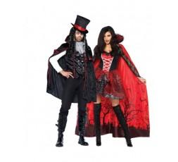 Sexy Shop Online I Trasgressivi - Halloween Coppia - Mantello Da Vampira & Costume Da Vampiro Sexy