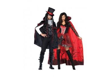 Il consiglio del giorno: Halloween Coppia - Mantello Da Vampira & Costume Da Vampiro Sexy