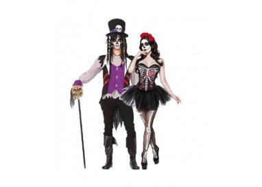 Il consiglio del giorno: Halloween Coppia - Costume da Skull Senorita & Da Prete Voodoo