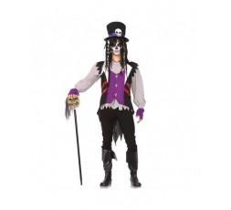 Sexy Shop Online I Trasgressivi - Halloween Coppia - Costume da Skull Senorita & Da Prete Voodoo