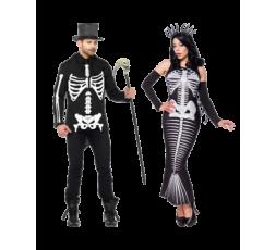 Sexy Shop Online I Trasgressivi - Halloween Coppia - Costume Da Scheletro & Skeleton Mermaid