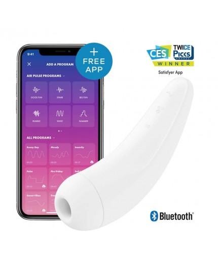 Sexy Shop Online I Trasgressivi - Sex Toy con App - Curvy 2+ White - Satisfyer