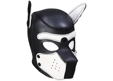 Maschera BDSM - Maschera Da Cane Bianco