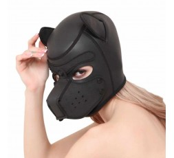 Sexy Shop Online I trasgressivi Maschera BDSM - Maschera Da Cane Nera