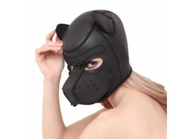 Maschera BDSM - Maschera Da Cane Nera