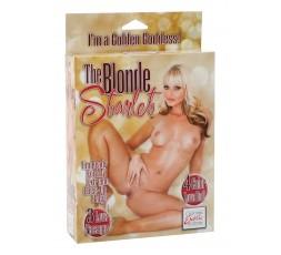 Sexy Shop Online I Trasgressivi - Bambola Gonfiabile - The Blonde Starlet Love Doll Skin - California Exotics