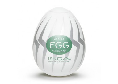 Il consiglio del giorno: Masturbatore Design - Masturbatore Tenga Egg Thunder - Tenga