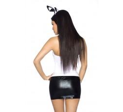 Sexy Shop Online I Trasgressivi - Costume Sexy Per Carnevale - Costume Sexy Da Coniglietta Nero e Bianco - Obsessive