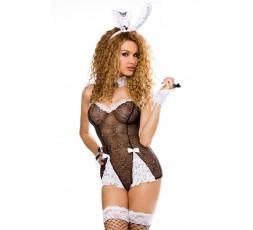 Sexy Shop Online I Trasgressivi - Costume Sexy Per Carnevale - Costume Nero Sexy Da Coniglietta Roleplay - Saresia