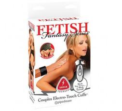 Sexy Shop Online I Trasgressivi Manette Per Coppia Elettrostimolanti Electro Touch Cuffs Shock Therapy - Pipedream