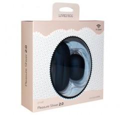 Ovulo Vibrante Wireless Pleasure Shiver Small 4,80 cm Nero - Toyz 4 Lovers