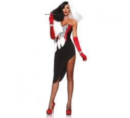 Costume Halloween Da Diva Crudelia - Leg Avenue