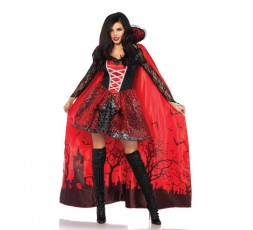 Costume Halloween Mantello Da Vampira - Leg Avenue