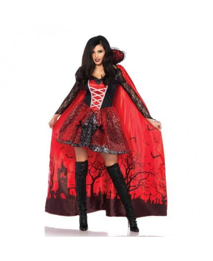 Sexy Shop Online I Trasgressivi - Halloween Donna - Mantello Da Vampira - Leg Avenue