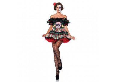 Il consiglio del giorno: Halloween Donna - Day Of The Dead Doll - Leg Avenue