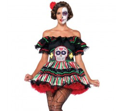 Sexy Shop Online I Trasgressivi - Costume Halloween - Day Of The Dead Doll - Leg Avenue